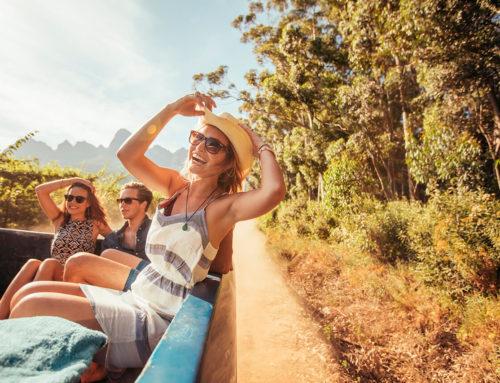 ¿Tarde de sábado soleada? Hora de un picnic.