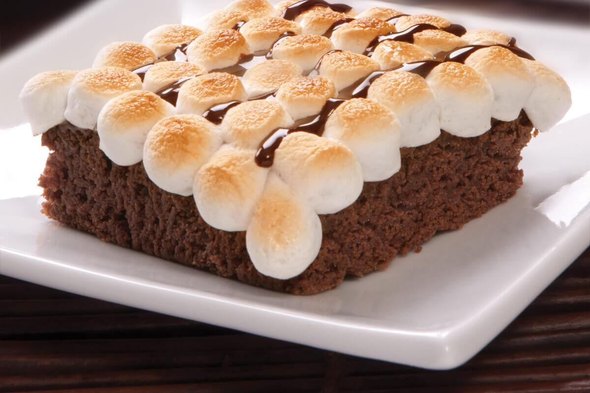 Brownies con Masmelos - Brownie Mama-ia