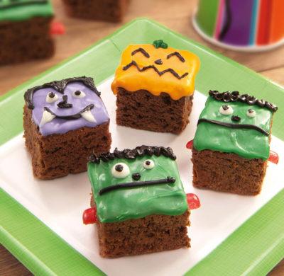 Mini Brownies Disfrazados - Brownie Mama-ia