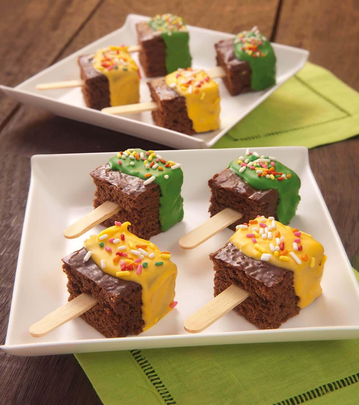 Paleticas Mini Brownies - Brownie Mama-ia