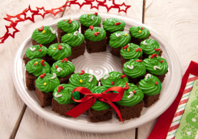 Corona de Navidad - Brownie Mama-ia