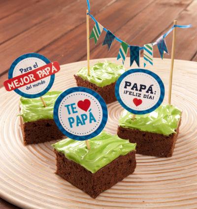 Brownies para Papá - Brownie Mama-ia