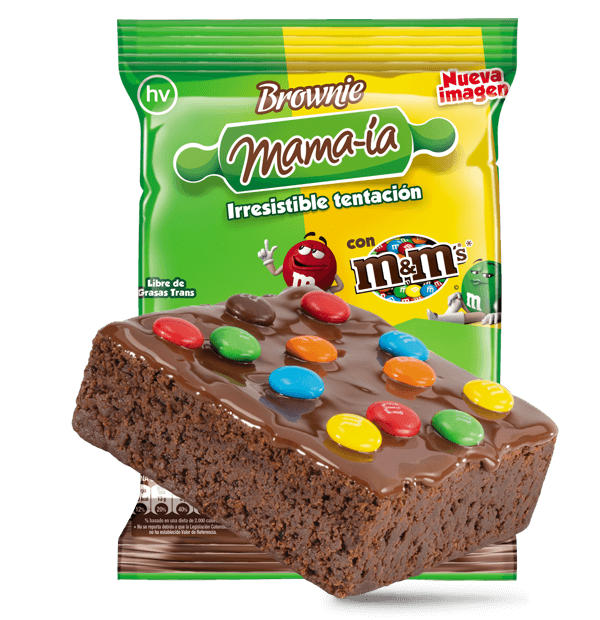 Brownie M&M's - Brownie Mama-ia