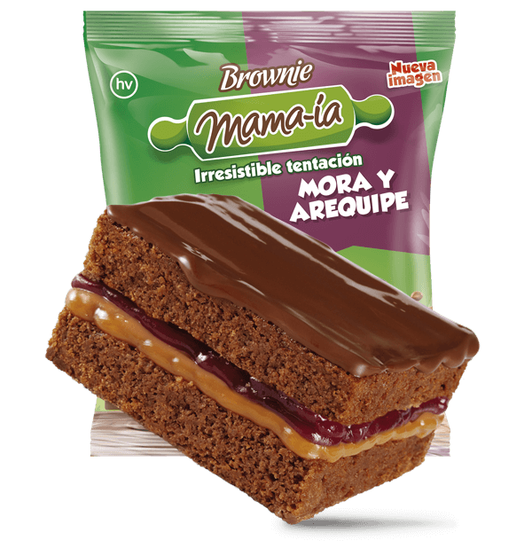 Brownie Mora Arequipe - Brownie Mama-ia