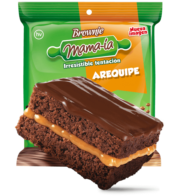 Brownie Arequipe - Brownie Mama-ia