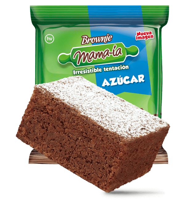Brownie Azúcar - Brownie Mama-ia