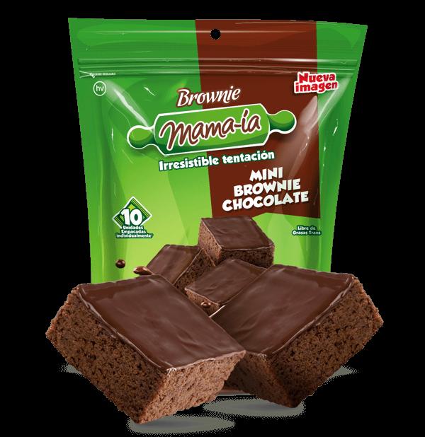 Mini Brownie Chocolate - Brownie Mama-ia